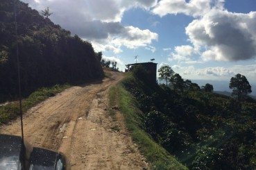 Honduras-Azabache-Coffee-Farm-Access-Road