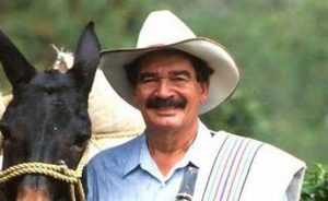Colombian Coffee Farmer Pop Icon Juan Valdez