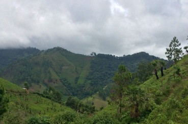 Coffee Producing Hillsides of Siguatepeque Honduras