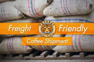 Freight Friendly Coffee Shipment Graphic