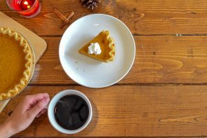 Thanksgiving Coffee and Pie
